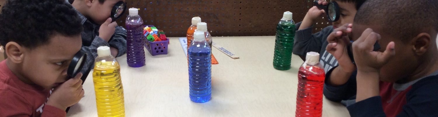 Color and Light - Maria - Elbow - color bottle exploration Stephenson